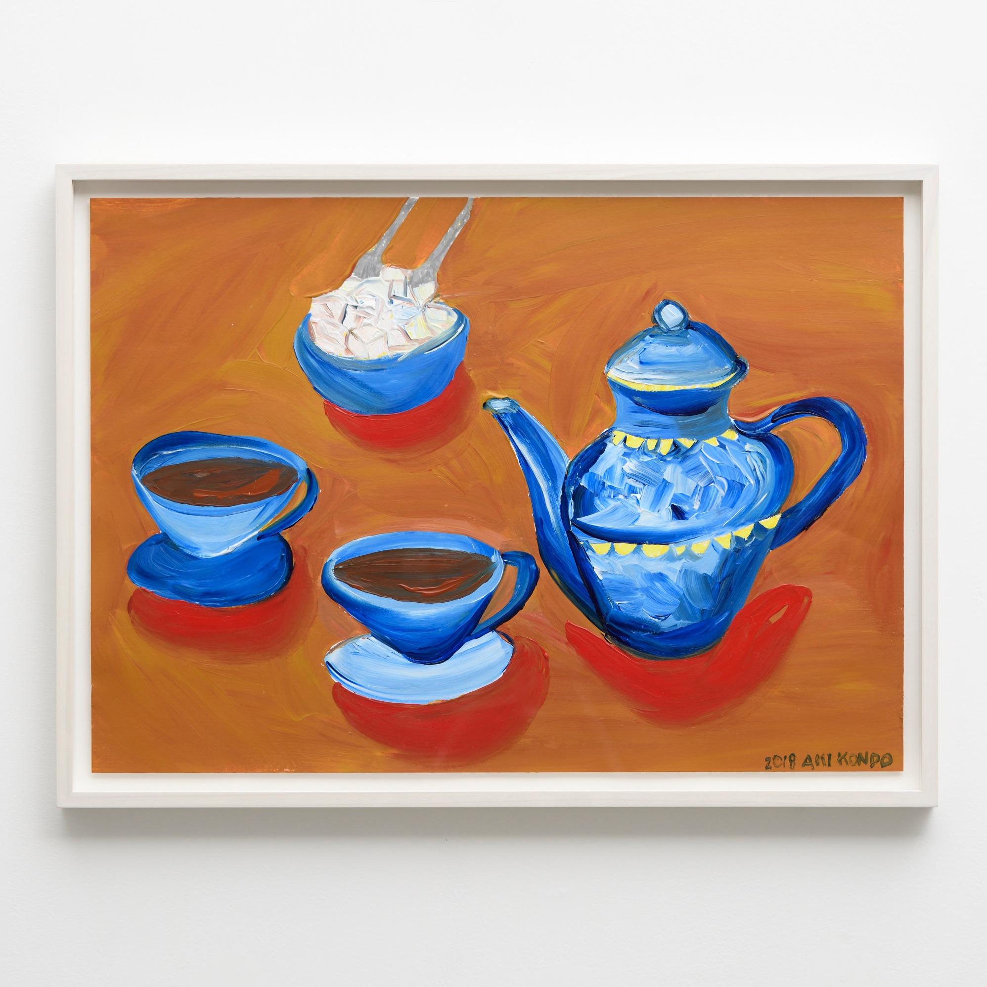 ティータイムは絶対に  Unmissable Tea Time